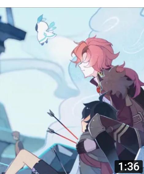 【質問】このウェンティ物語の倒れた男の子を後ろから支えてる赤髪は誰?