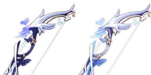 【リーク?】謎の新武器が・・・甘雨のモチーフ武器?アモス型落ちか!?